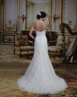 Wedding Dress Style VE8177 back view - Venus Bridal